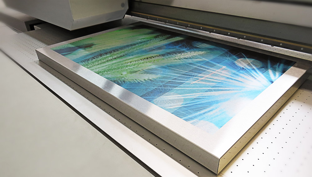 UV Aluminum Box Printing