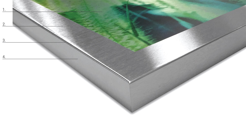 UV Aluminum Gallery Box Substrate