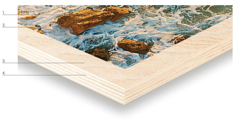 UV Birch Substrate