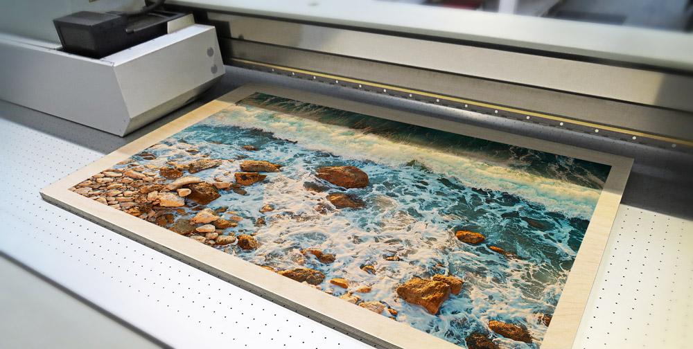 UV Birch Printing