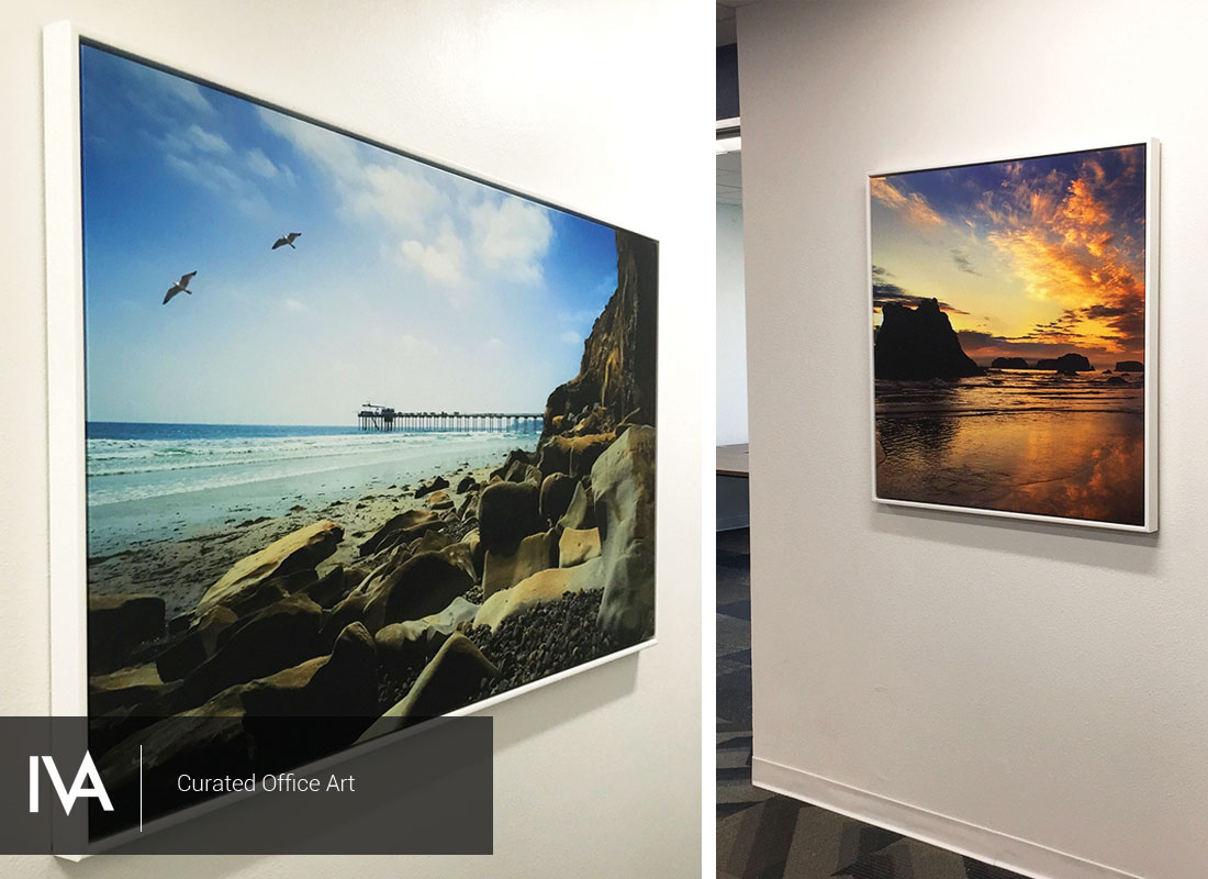 Art Package, Surf Art, Ocean Art, California, Office Art, Modern Office Art, Corporate_Art, Corporate Branding, Wall Decor, Wall Art, Decor Art